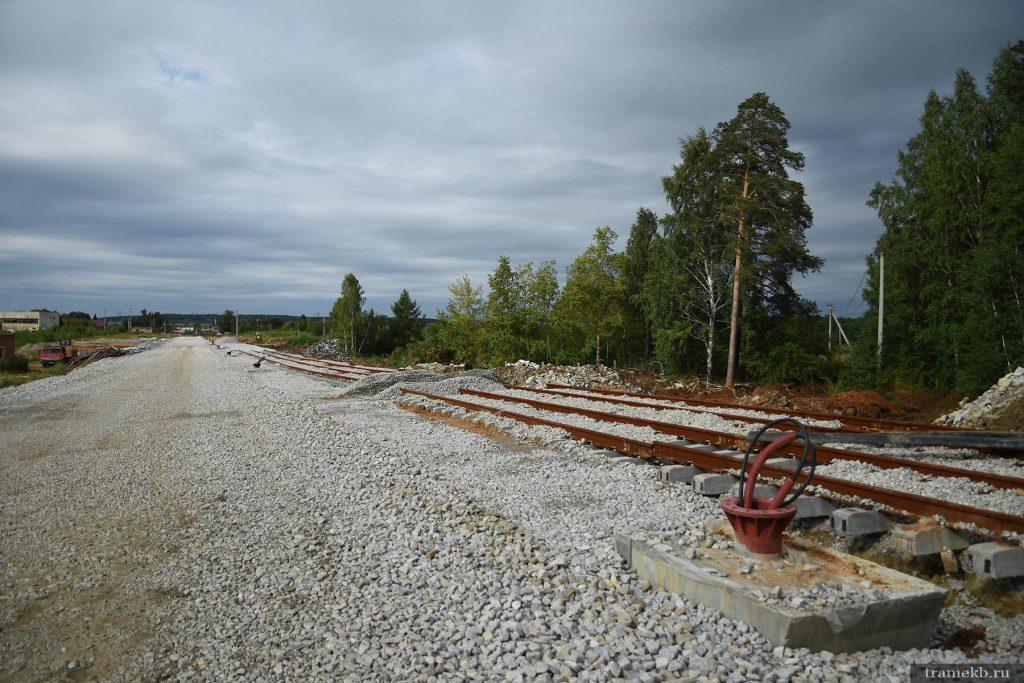 Строительство трамвайной линии Екатеринбург – Верхняя Пышма