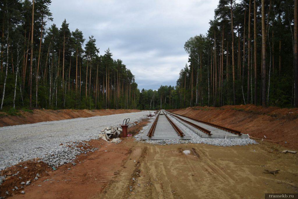 Строительство трамвайной линии в Верхнюю Пышму