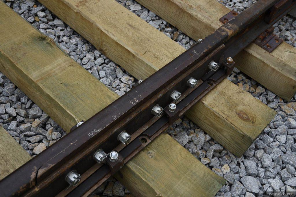 Строительство трамвайной линии в Верхнюю Пышму. Температурный стык