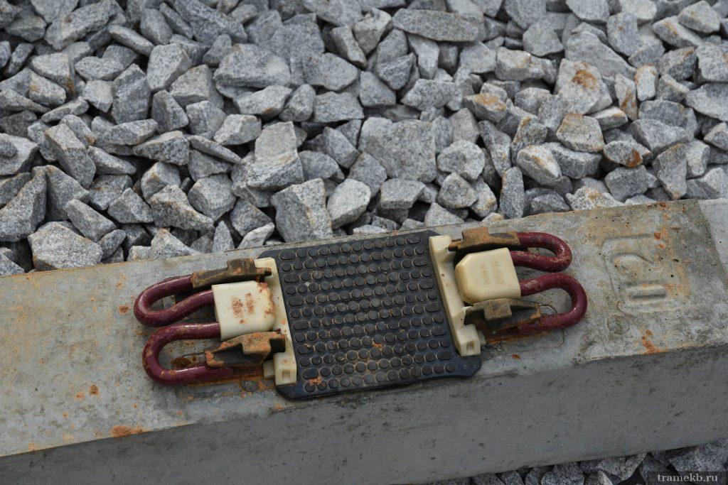 Строительство трамвайной линии в Верхнюю Пышму. Рельсовая прокладка