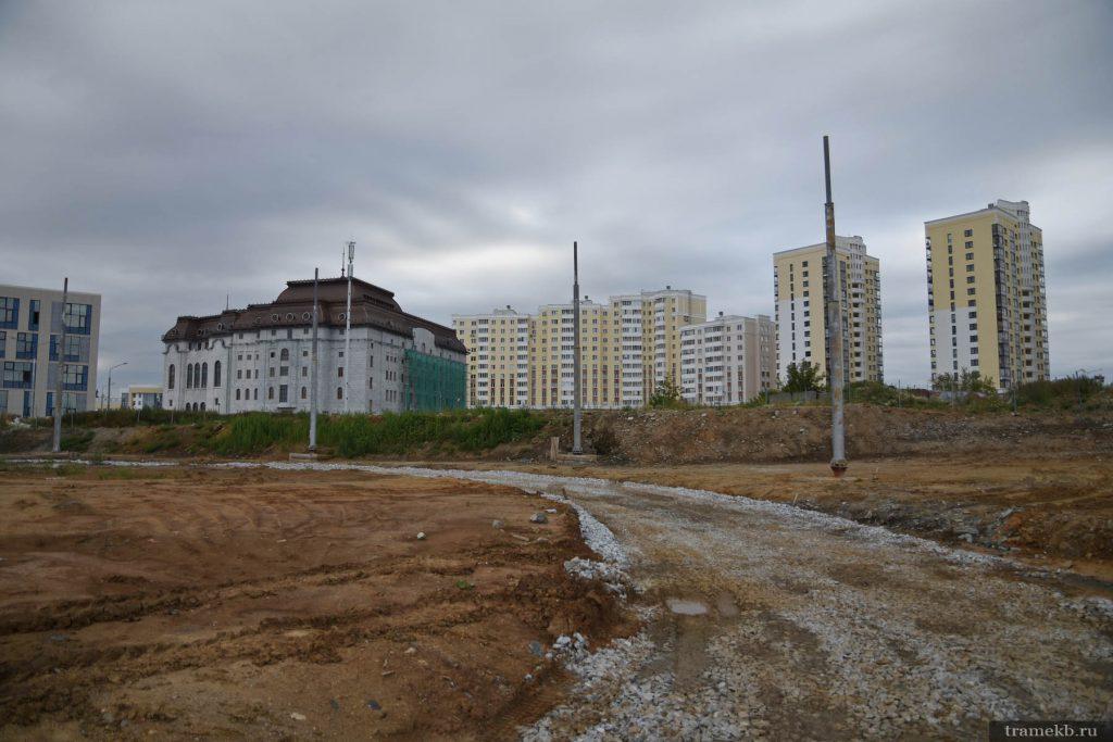 Строительство трамвайной линии в Верхнюю Пышму. Кольцо в г. Верхняя Пышма