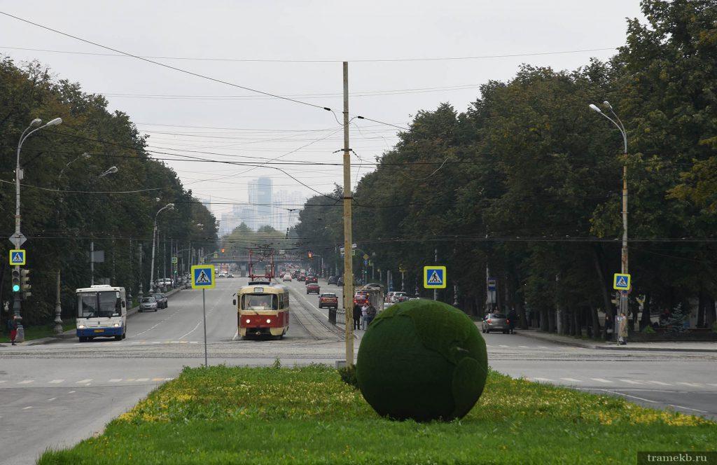 Трамвайная остановка «Уральский федеральный университет»