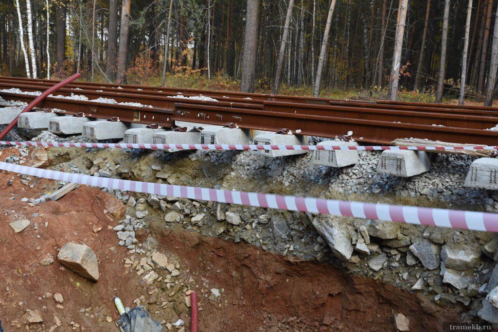 Строительство трамвайной линии в Верхнюю Пышму. Меридональная 2