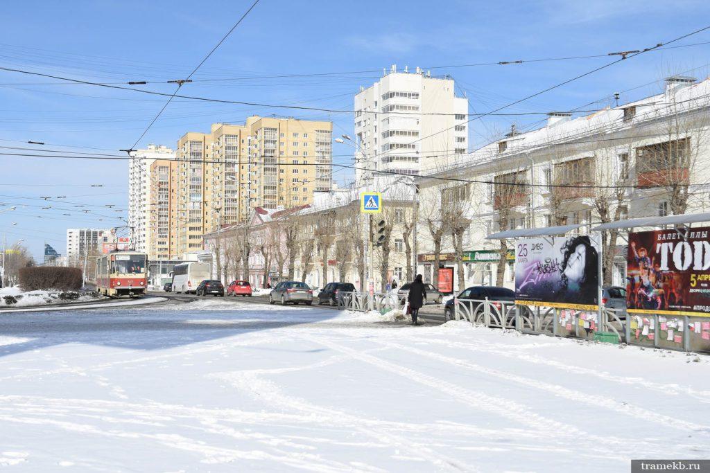 Конечная станция трамвая «Южная» выведена из эксплуатации