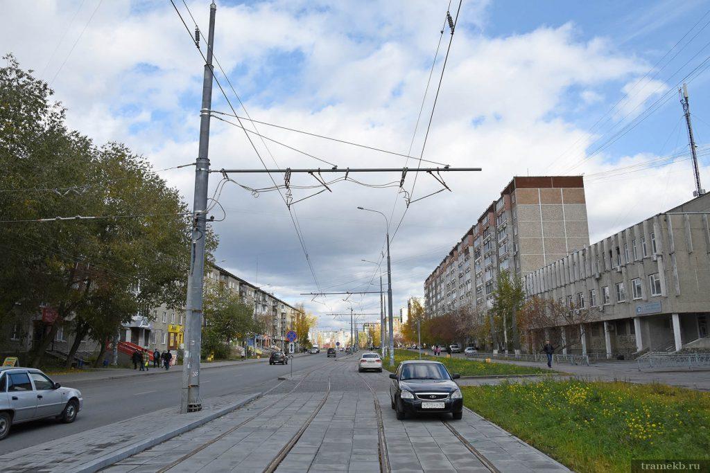 Строительство трамвайной линии в Верхнюю Пышму. Питающий фидер