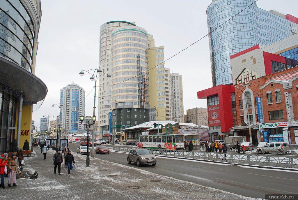 Трамвайная остановка  «Улица Радищева»