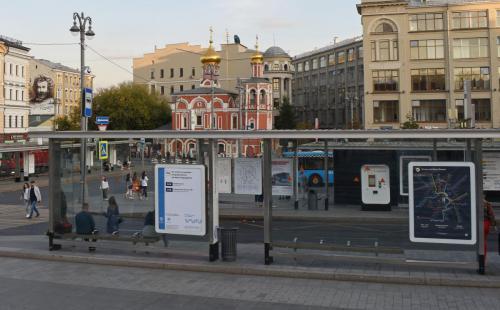stopinmoscowСовременный остановочный комплекс в Москве