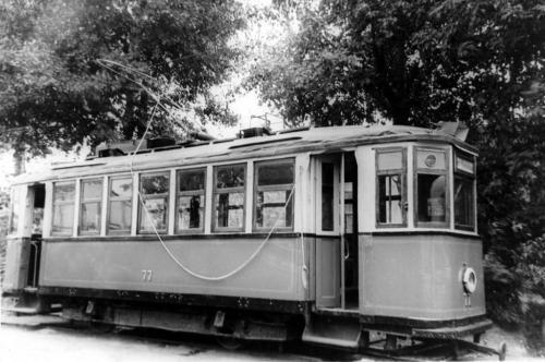 Трамвайный вагон серии Х