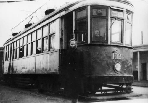 Трамвайный вагон серии КМ